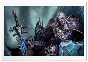 Arthas Menethil The Frozen Throne HD Wide Wallpaper for Widescreen