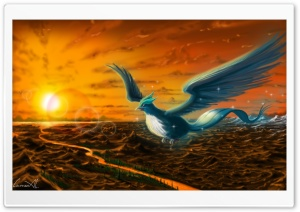 Articuno (Pokemon) HD Wide Wallpaper for Widescreen