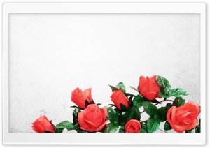 Artificial Flowers HD Wide Wallpaper for Widescreen