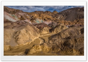 Artist Palette, Death Valley National Park, California HD Wide Wallpaper for 4K UHD Widescreen desktop & smartphone