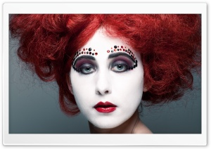 Artistic Makeup HD Wide Wallpaper for Widescreen