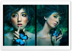 Artistic Portrait HD Wide Wallpaper for Widescreen