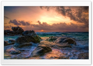 Aruba Sunrise HD Wide Wallpaper for Widescreen
