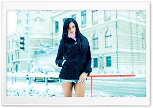 Ashley Bulgari - Snow Ultra HD Wallpaper for 4K UHD Widescreen desktop, tablet & smartphone