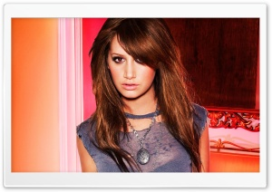 Ashley Tisdale Brown Hair 2011 HD Wide Wallpaper for Widescreen