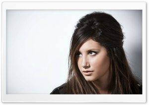 Ashley Tisdale Brown Hair Color HD Wide Wallpaper for Widescreen