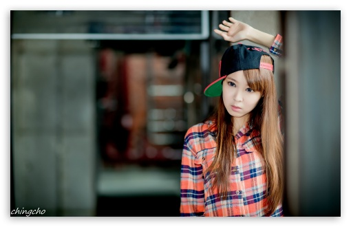 Asian Girl, Checkered Shirt and Cap HD wallpaper for Wide 16:10 5:3 Widescreen WHXGA WQXGA WUXGA WXGA WGA ; HD 16:9 High Definition WQHD QWXGA 1080p 900p 720p QHD nHD ; UHD 16:9 WQHD QWXGA 1080p 900p 720p QHD nHD ; Standard 4:3 3:2 Fullscreen UXGA XGA SVGA DVGA HVGA HQVGA devices ( Apple PowerBook G4 iPhone 4 3G 3GS iPod Touch ) ; iPad 1/2/Mini ; Mobile 4:3 5:3 3:2 16:9 - UXGA XGA SVGA WGA DVGA HVGA HQVGA devices ( Apple PowerBook G4 iPhone 4 3G 3GS iPod Touch ) WQHD QWXGA 1080p 900p 720p QHD nHD ;