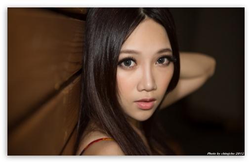 Asian girl with big beautiful eyes 4k hd desktop wallpaper - Asian girl 4k ...