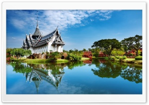 Asian Park HD Wide Wallpaper for Widescreen