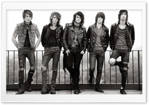 Asking Alexandria HD Wide Wallpaper for Widescreen