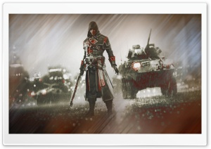 Assassin Battle HD Wide Wallpaper for Widescreen