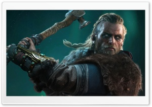 Assassin s Creed Valhalla Eivor male 2020 Video Game Ultra HD Wallpaper for 4K UHD Widescreen desktop, tablet & smartphone