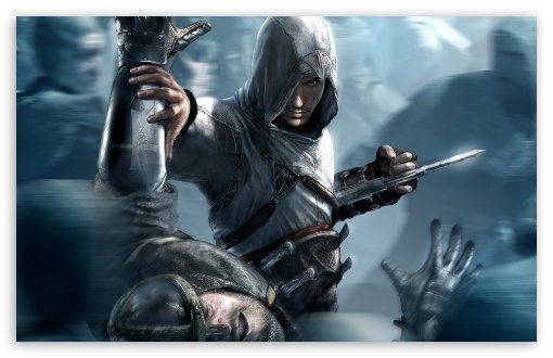 Assassins Creed HD wallpaper for Standard 4:3 5:4 Fullscreen UXGA XGA SVGA QSXGA SXGA ; Wide 16:10 5:3 Widescreen WHXGA WQXGA WUXGA WXGA WGA ; HD 16:9 High Definition WQHD QWXGA 1080p 900p 720p QHD nHD ; Other 3:2 DVGA HVGA HQVGA devices ( Apple PowerBook G4 iPhone 4 3G 3GS iPod Touch ) ; Mobile VGA WVGA iPhone iPad PSP Phone - VGA QVGA Smartphone ( PocketPC GPS iPod Zune BlackBerry HTC Samsung LG Nokia Eten Asus ) WVGA WQVGA Smartphone ( HTC Samsung Sony Ericsson LG Vertu MIO ) HVGA Smartphone ( Apple iPhone iPod BlackBerry HTC Samsung Nokia ) Sony PSP Zune HD Zen ;