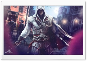 Assassin's Creed 2 HD Wide Wallpaper for Widescreen