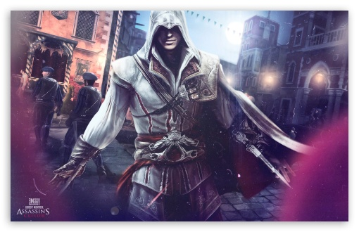 Assassin's Creed 2 HD wallpaper for Wide 16:10 5:3 Widescreen WHXGA WQXGA WUXGA WXGA WGA ; HD 16:9 High Definition WQHD QWXGA 1080p 900p 720p QHD nHD ; Standard 4:3 5:4 3:2 Fullscreen UXGA XGA SVGA QSXGA SXGA DVGA HVGA HQVGA devices ( Apple PowerBook G4 iPhone 4 3G 3GS iPod Touch ) ; iPad 1/2/Mini ; Mobile 4:3 5:3 3:2 5:4 - UXGA XGA SVGA WGA DVGA HVGA HQVGA devices ( Apple PowerBook G4 iPhone 4 3G 3GS iPod Touch ) QSXGA SXGA ;