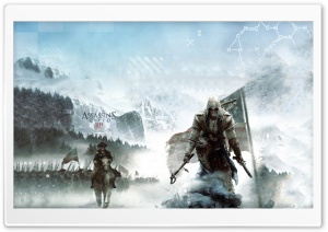 Assassin's Creed 3 HD Wide Wallpaper for Widescreen