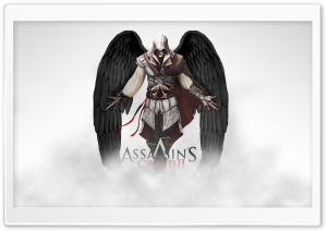 Assassin's Creed 2 Ezio HD Wide Wallpaper for Widescreen