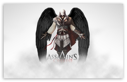 Assassin's Creed 2 Ezio HD wallpaper for Wide 16:10 5:3 Widescreen WHXGA WQXGA WUXGA WXGA WGA ; HD 16:9 High Definition WQHD QWXGA 1080p 900p 720p QHD nHD ; Standard 4:3 5:4 3:2 Fullscreen UXGA XGA SVGA QSXGA SXGA DVGA HVGA HQVGA devices ( Apple PowerBook G4 iPhone 4 3G 3GS iPod Touch ) ; Tablet 1:1 ; iPad 1/2/Mini ; Mobile 4:3 5:3 3:2 16:9 5:4 - UXGA XGA SVGA WGA DVGA HVGA HQVGA devices ( Apple PowerBook G4 iPhone 4 3G 3GS iPod Touch ) WQHD QWXGA 1080p 900p 720p QHD nHD QSXGA SXGA ;