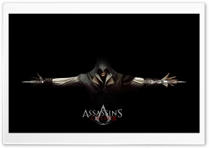 Assassin's Creed 2 Ezio Black HD Wide Wallpaper for Widescreen