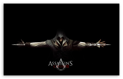 Assassin's Creed 2 Ezio Black HD wallpaper for Wide 16:10 5:3 Widescreen WHXGA WQXGA WUXGA WXGA WGA ; HD 16:9 High Definition WQHD QWXGA 1080p 900p 720p QHD nHD ; Standard 4:3 5:4 3:2 Fullscreen UXGA XGA SVGA QSXGA SXGA DVGA HVGA HQVGA devices ( Apple PowerBook G4 iPhone 4 3G 3GS iPod Touch ) ; iPad 1/2/Mini ; Mobile 4:3 5:3 3:2 16:9 5:4 - UXGA XGA SVGA WGA DVGA HVGA HQVGA devices ( Apple PowerBook G4 iPhone 4 3G 3GS iPod Touch ) WQHD QWXGA 1080p 900p 720p QHD nHD QSXGA SXGA ;