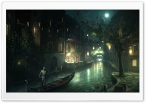 Assassin's Creed 2 Venice HD Wide Wallpaper for Widescreen