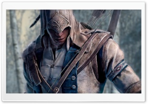 Assassin's Creed 3 Connor HD Wide Wallpaper for Widescreen
