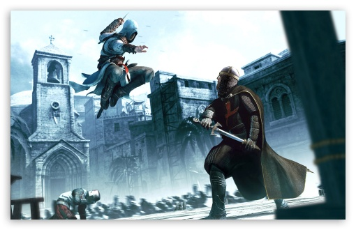 Assassins Creed HD wallpaper for Wide 16:10 5:3 Widescreen WHXGA WQXGA WUXGA WXGA WGA ; HD 16:9 High Definition WQHD QWXGA 1080p 900p 720p QHD nHD ; Standard 4:3 3:2 Fullscreen UXGA XGA SVGA DVGA HVGA HQVGA devices ( Apple PowerBook G4 iPhone 4 3G 3GS iPod Touch ) ; iPad 1/2/Mini ; Mobile 4:3 5:3 3:2 16:9 - UXGA XGA SVGA WGA DVGA HVGA HQVGA devices ( Apple PowerBook G4 iPhone 4 3G 3GS iPod Touch ) WQHD QWXGA 1080p 900p 720p QHD nHD ;