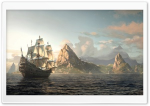 Assassins Creed 4 Black Flag HD Wide Wallpaper for Widescreen