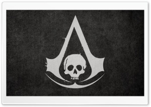 Assassins Creed 4 Pirate Flag HD Wide Wallpaper for Widescreen