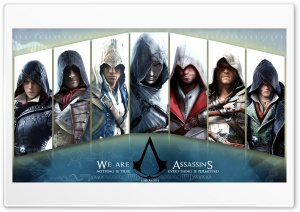 Assassins Creed HD Wide Wallpaper for 4K UHD Widescreen desktop & smartphone