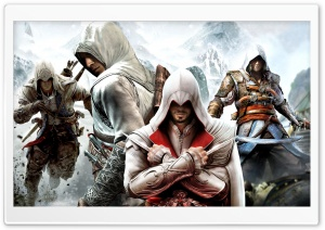 Assassins Creed 2 HD Wide Wallpaper for Widescreen