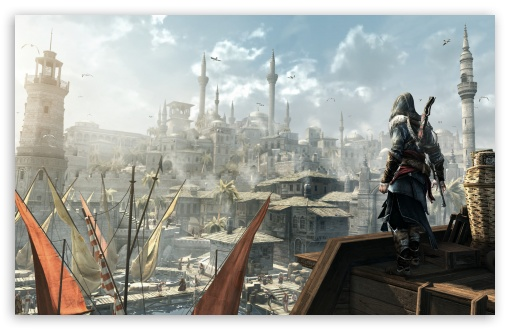 Assassins Creed : Revelations HD wallpaper for Wide 16:10 5:3 Widescreen WHXGA WQXGA WUXGA WXGA WGA ; HD 16:9 High Definition WQHD QWXGA 1080p 900p 720p QHD nHD ; UHD 16:9 WQHD QWXGA 1080p 900p 720p QHD nHD ; Standard 4:3 5:4 3:2 Fullscreen UXGA XGA SVGA QSXGA SXGA DVGA HVGA HQVGA devices ( Apple PowerBook G4 iPhone 4 3G 3GS iPod Touch ) ; Tablet 1:1 ; iPad 1/2/Mini ; Mobile 4:3 5:3 3:2 16:9 5:4 - UXGA XGA SVGA WGA DVGA HVGA HQVGA devices ( Apple PowerBook G4 iPhone 4 3G 3GS iPod Touch ) WQHD QWXGA 1080p 900p 720p QHD nHD QSXGA SXGA ; Dual 5:4 QSXGA SXGA ;