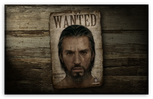 Assassin's Creed - Wanted Poster HD wallpaper for Wide 16:10 5:3 Widescreen WHXGA WQXGA WUXGA WXGA WGA ; HD 16:9 High Definition WQHD QWXGA 1080p 900p 720p QHD nHD ; Standard 4:3 5:4 3:2 Fullscreen UXGA XGA SVGA QSXGA SXGA DVGA HVGA HQVGA devices ( Apple PowerBook G4 iPhone 4 3G 3GS iPod Touch ) ; Tablet 1:1 ; iPad 1/2/Mini ; Mobile 4:3 5:3 3:2 16:9 5:4 - UXGA XGA SVGA WGA DVGA HVGA HQVGA devices ( Apple PowerBook G4 iPhone 4 3G 3GS iPod Touch ) WQHD QWXGA 1080p 900p 720p QHD nHD QSXGA SXGA ;