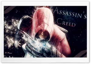 Assassin's Creed Abstract HD Wide Wallpaper for 4K UHD Widescreen desktop & smartphone