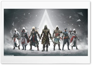 Assassins Creed All Character HD Wide Wallpaper for Widescreen