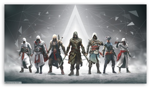 Assassins Creed All Character ❤ 4K UHD Wallpaper for 4K UHD 16:9 Ultra High Definition 2160p 1440p 1080p 900p 720p ; Mobile 16:9 - 2160p 1440p 1080p 900p 720p ;