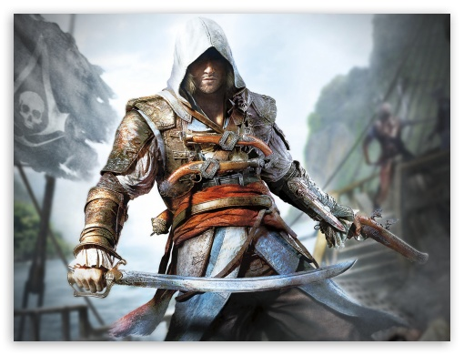 Assassins creed black flag UltraHD Wallpaper for Standard 4:3 Fullscreen UXGA XGA SVGA ; iPad 1/2/Mini ; Mobile 4:3 - UXGA XGA SVGA ;