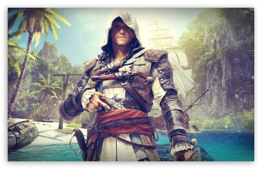 Assassins Creed Black Flag - Edward Kenway HD wallpaper for Wide 16:10 5:3 Widescreen WHXGA WQXGA WUXGA WXGA WGA ; HD 16:9 High Definition WQHD QWXGA 1080p 900p 720p QHD nHD ; UHD 16:9 WQHD QWXGA 1080p 900p 720p QHD nHD ; Standard 4:3 5:4 3:2 Fullscreen UXGA XGA SVGA QSXGA SXGA DVGA HVGA HQVGA devices ( Apple PowerBook G4 iPhone 4 3G 3GS iPod Touch ) ; Tablet 1:1 ; iPad 1/2/Mini ; Mobile 4:3 5:3 3:2 16:9 5:4 - UXGA XGA SVGA WGA DVGA HVGA HQVGA devices ( Apple PowerBook G4 iPhone 4 3G 3GS iPod Touch ) WQHD QWXGA 1080p 900p 720p QHD nHD QSXGA SXGA ;