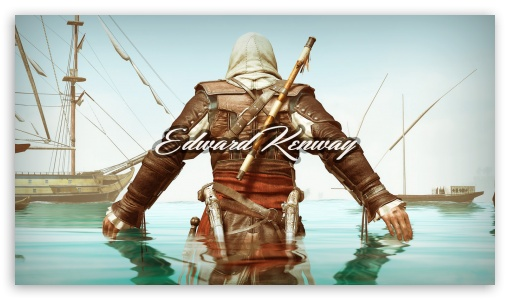Assassin S Creed Black Flag Ultra Hd Desktop Background Wallpaper