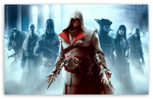 Assassin's Creed Brotherhood HD wallpaper for Wide 16:10 5:3 Widescreen WHXGA WQXGA WUXGA WXGA WGA ; HD 16:9 High Definition WQHD QWXGA 1080p 900p 720p QHD nHD ; Standard 4:3 5:4 3:2 Fullscreen UXGA XGA SVGA QSXGA SXGA DVGA HVGA HQVGA devices ( Apple PowerBook G4 iPhone 4 3G 3GS iPod Touch ) ; Tablet 1:1 ; iPad 1/2/Mini ; Mobile 4:3 5:3 3:2 16:9 5:4 - UXGA XGA SVGA WGA DVGA HVGA HQVGA devices ( Apple PowerBook G4 iPhone 4 3G 3GS iPod Touch ) WQHD QWXGA 1080p 900p 720p QHD nHD QSXGA SXGA ;