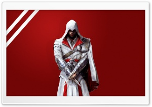 Assassin's Creed Brotherhood - Ezio HD Wide Wallpaper for Widescreen