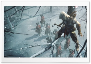 Assassins Creed Connor Ultra HD Wallpaper for 4K UHD Widescreen desktop, tablet & smartphone