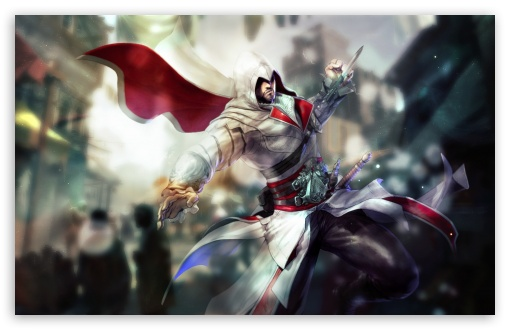Assassin's Creed Ezio Drawing HD wallpaper for Wide 16:10 5:3 Widescreen WHXGA WQXGA WUXGA WXGA WGA ; HD 16:9 High Definition WQHD QWXGA 1080p 900p 720p QHD nHD ; Standard 4:3 5:4 3:2 Fullscreen UXGA XGA SVGA QSXGA SXGA DVGA HVGA HQVGA devices ( Apple PowerBook G4 iPhone 4 3G 3GS iPod Touch ) ; iPad 1/2/Mini ; Mobile 4:3 5:3 3:2 16:9 5:4 - UXGA XGA SVGA WGA DVGA HVGA HQVGA devices ( Apple PowerBook G4 iPhone 4 3G 3GS iPod Touch ) WQHD QWXGA 1080p 900p 720p QHD nHD QSXGA SXGA ;