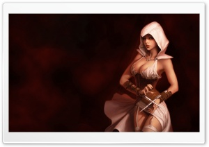 Assassins Creed Girl HD Wide Wallpaper for Widescreen