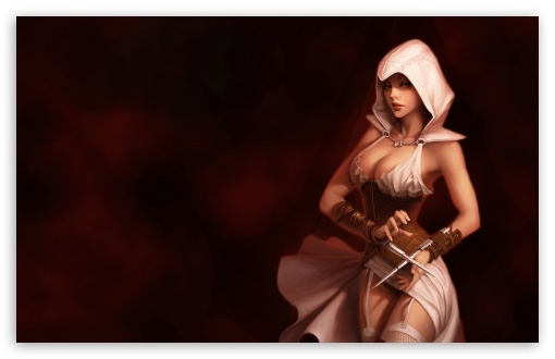 Assassins Creed Girl HD wallpaper for Wide 16:10 5:3 Widescreen WHXGA WQXGA WUXGA WXGA WGA ; HD 16:9 High Definition WQHD QWXGA 1080p 900p 720p QHD nHD ; Standard 4:3 5:4 3:2 Fullscreen UXGA XGA SVGA QSXGA SXGA DVGA HVGA HQVGA devices ( Apple PowerBook G4 iPhone 4 3G 3GS iPod Touch ) ; Tablet 1:1 ; iPad 1/2/Mini ; Mobile 4:3 5:3 3:2 16:9 5:4 - UXGA XGA SVGA WGA DVGA HVGA HQVGA devices ( Apple PowerBook G4 iPhone 4 3G 3GS iPod Touch ) WQHD QWXGA 1080p 900p 720p QHD nHD QSXGA SXGA ;