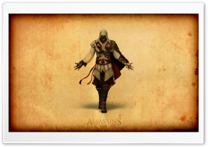 Assassin&#039;s Creed II HD Wide Wallpaper for Widescreen