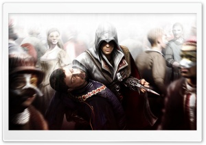 Assassin's Creed II HD Wide Wallpaper for 4K UHD Widescreen desktop & smartphone