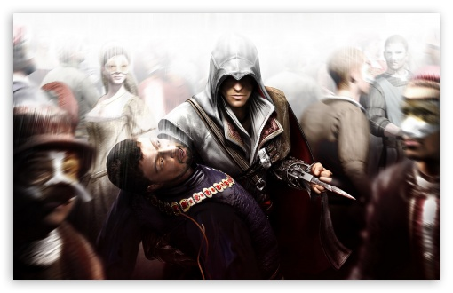 Assassin's Creed II HD wallpaper for Wide 16:10 5:3 Widescreen WHXGA WQXGA WUXGA WXGA WGA ; HD 16:9 High Definition WQHD QWXGA 1080p 900p 720p QHD nHD ; Standard 4:3 5:4 3:2 Fullscreen UXGA XGA SVGA QSXGA SXGA DVGA HVGA HQVGA devices ( Apple PowerBook G4 iPhone 4 3G 3GS iPod Touch ) ; Tablet 1:1 ; iPad 1/2/Mini ; Mobile 4:3 5:3 3:2 16:9 5:4 - UXGA XGA SVGA WGA DVGA HVGA HQVGA devices ( Apple PowerBook G4 iPhone 4 3G 3GS iPod Touch ) WQHD QWXGA 1080p 900p 720p QHD nHD QSXGA SXGA ;