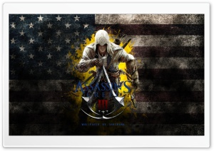 Assassins Creed III HD Wide Wallpaper for 4K UHD Widescreen desktop & smartphone
