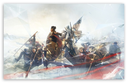Assassin's Creed III HD wallpaper for Wide 16:10 5:3 Widescreen WHXGA WQXGA WUXGA WXGA WGA ; HD 16:9 High Definition WQHD QWXGA 1080p 900p 720p QHD nHD ; Other 3:2 DVGA HVGA HQVGA devices ( Apple PowerBook G4 iPhone 4 3G 3GS iPod Touch ) ; Mobile WVGA iPhone PSP - WVGA WQVGA Smartphone ( HTC Samsung Sony Ericsson LG Vertu MIO ) HVGA Smartphone ( Apple iPhone iPod BlackBerry HTC Samsung Nokia ) Sony PSP Zune HD Zen ;